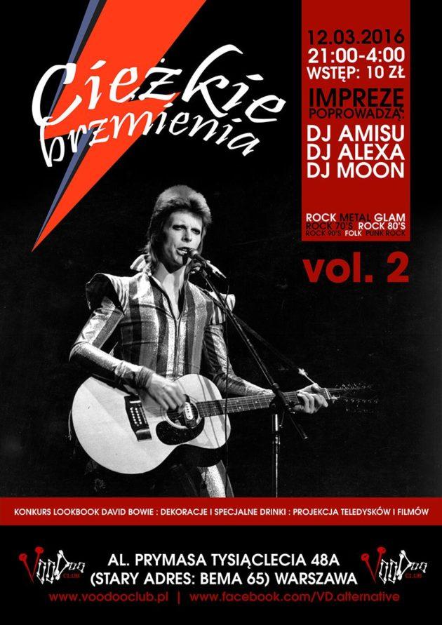 CIĘŻKIE BRZMIENIA vol. 2 – David Bowie