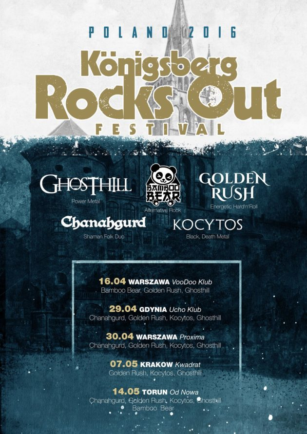 Konigsberg Rocks out Fest