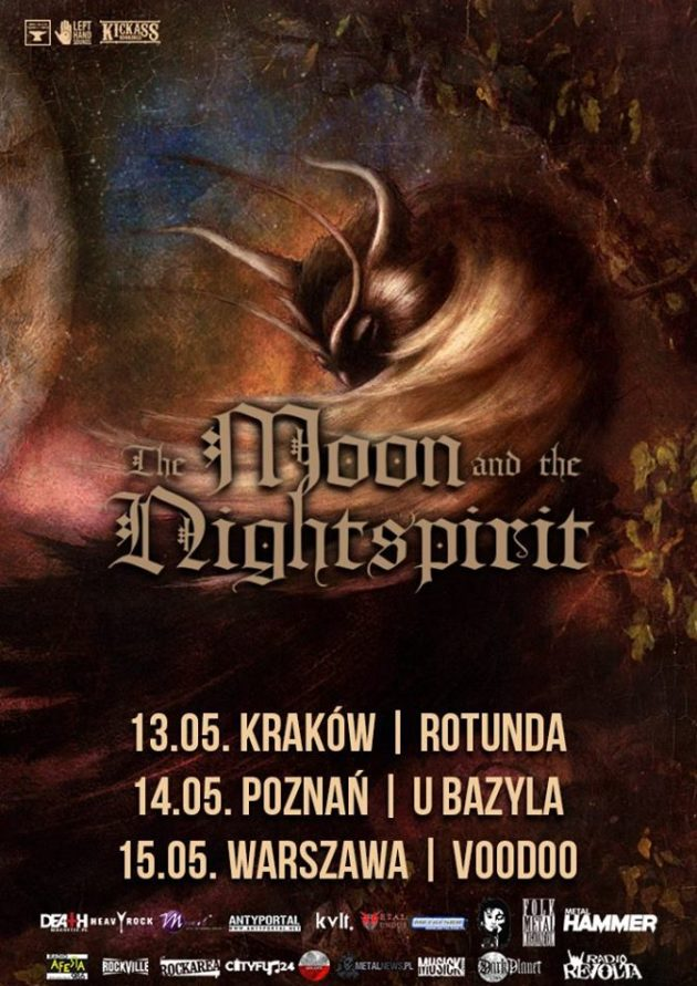The Moon & The Nightspirit (neo-folk, Węgry) + Helroth /unpluged/
