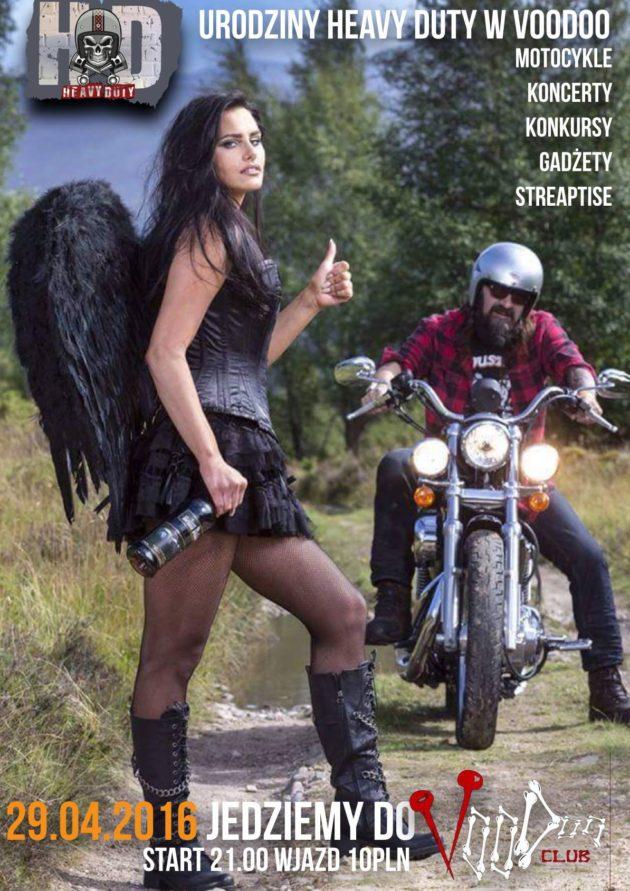 Motorcycle Night by Heavy Duty