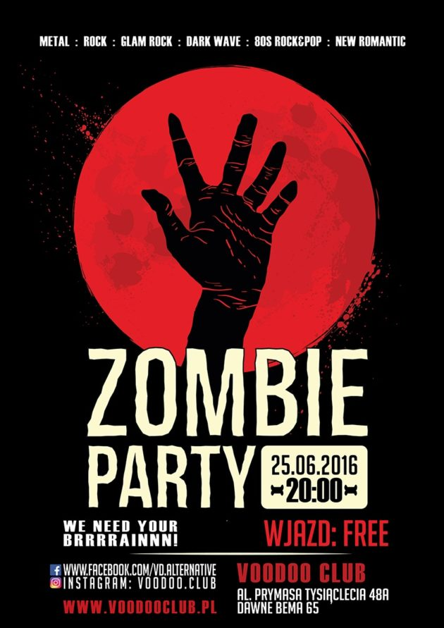 Zombie PARTY w VooDoo Club