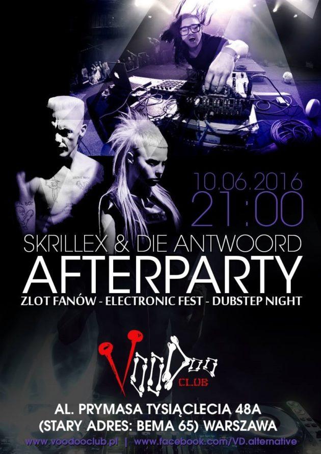 Skrillex & Die Antwoord Afterparty