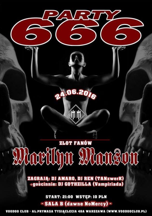 666 Party: zlot fanów Marilyn Manson