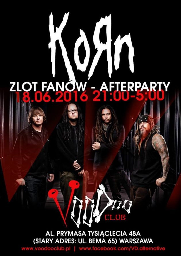 Zlot fanów Korn – Afterparty