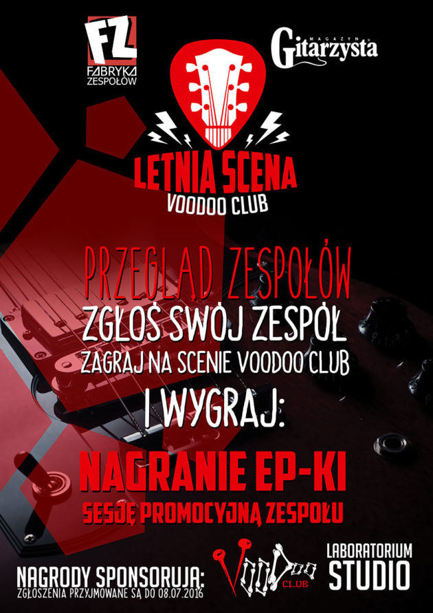 Letnia Scena VooDoo Club I Małpoludy I Time Of The Sinners I Can't Explain I Disposable Soma