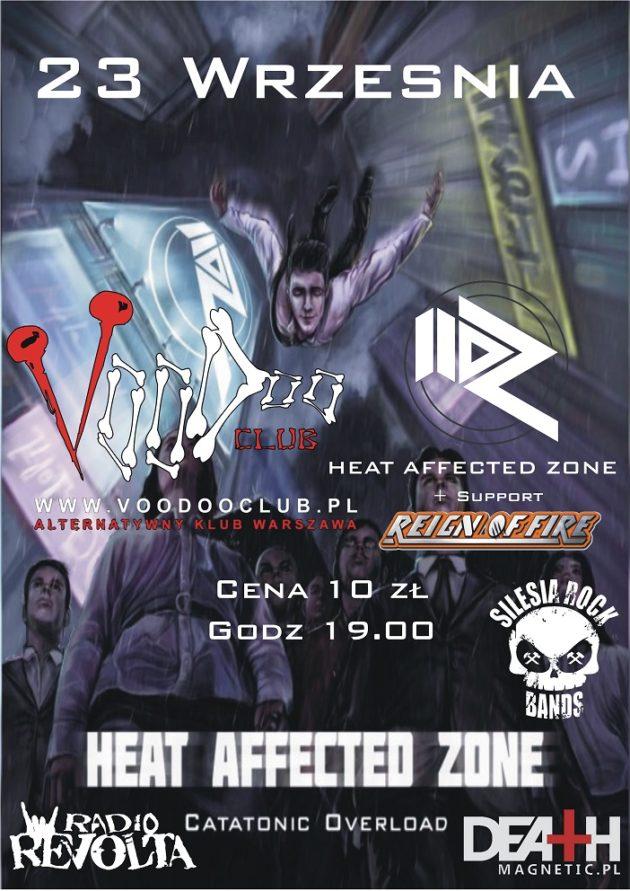 HAZ w Warszawie ! (support: Reign Of Fire)