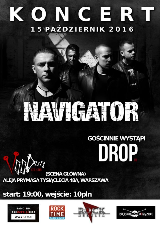 Koncert Navigator + gość – DROP.