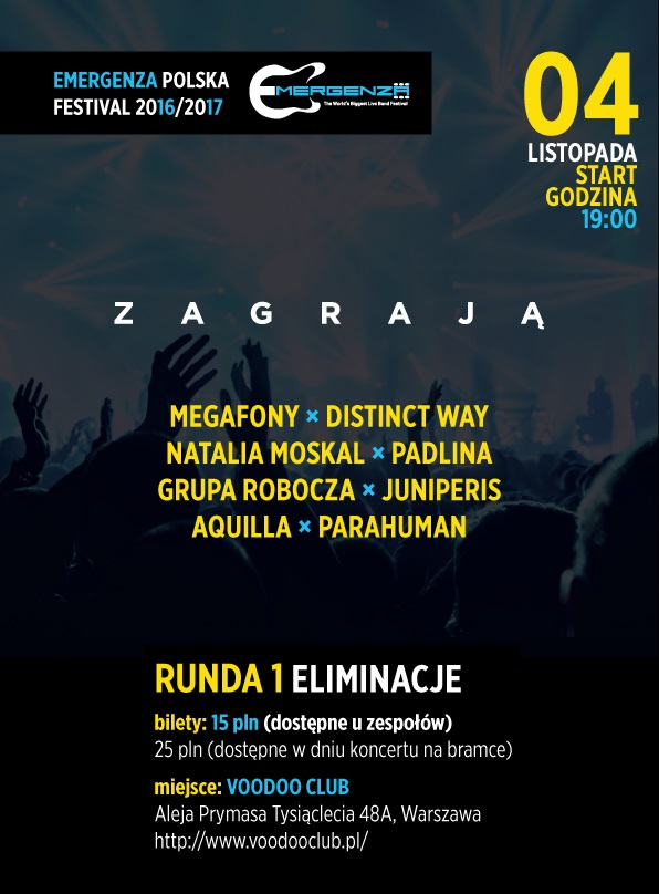 Eliminacje EMERGENZA FESTIVAL Polska – 2