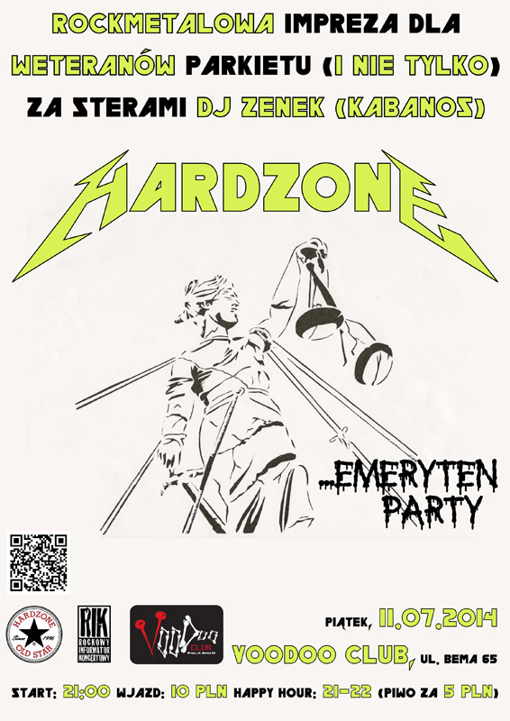 Hardzone Emeryten Party XI: OneOne
