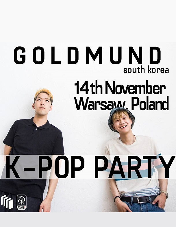 K-POP party with Goldmund (KR) in Warsaw!