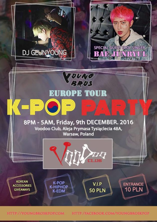Warsaw K-Pop Party by Young Bros x Bae JunRyul