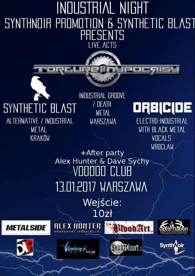 Industrial Night – live acts & after party