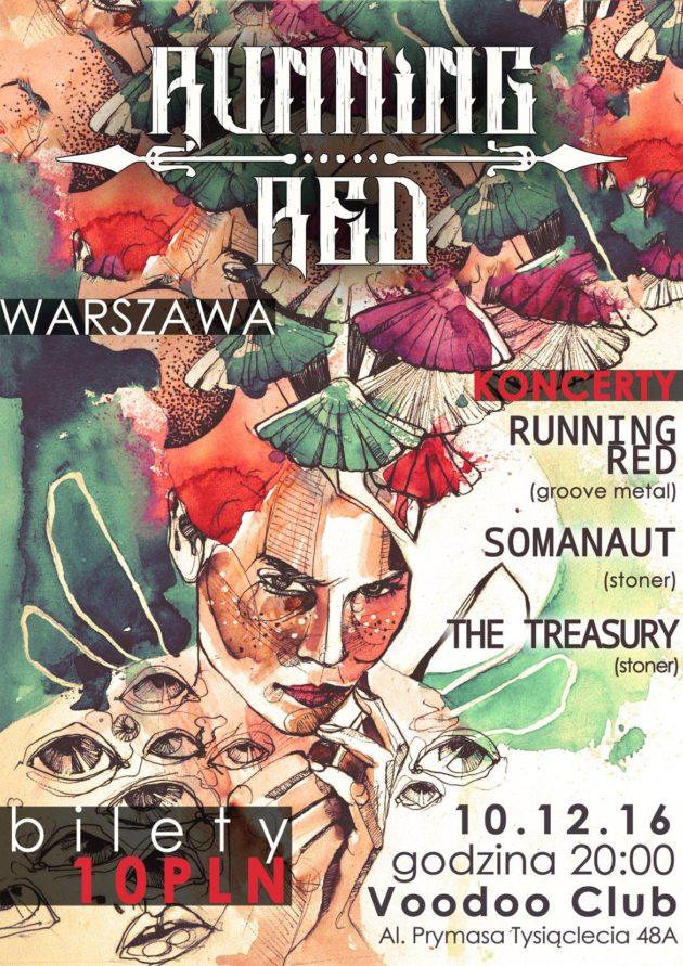 Running Red x Somanaut – VooDoo Club