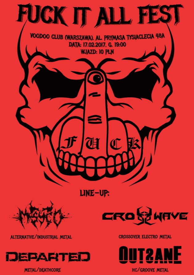 M/Syco, Outsane, Departed, Crosswave