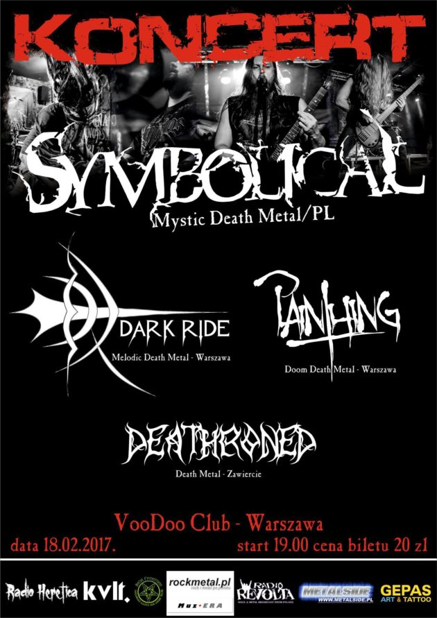 Koncert Symbolical, Dark Ride, Painthing, Deathroned
