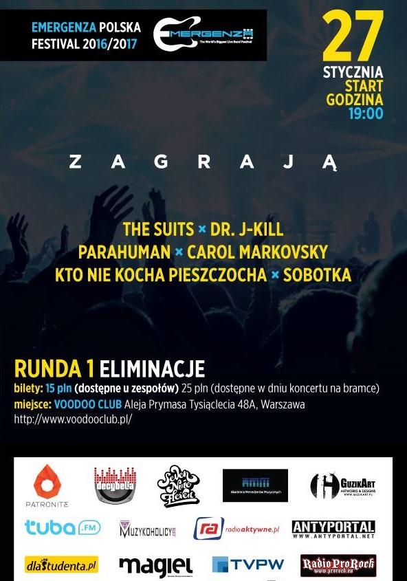 Eliminacje EMERGENZA FESTIVAL Polska