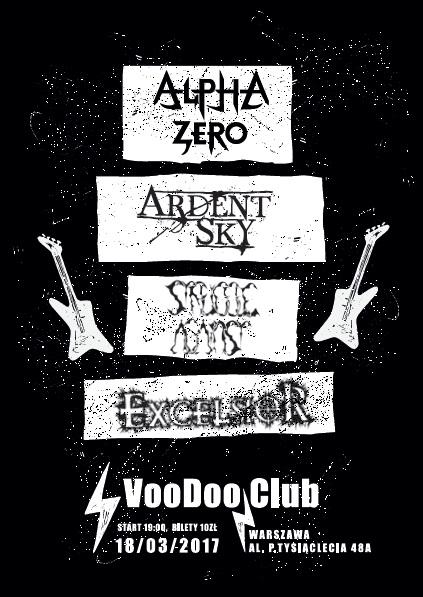 Koncert: Struggle Against, Alpha Zero, Excelsior, Ardent Sky