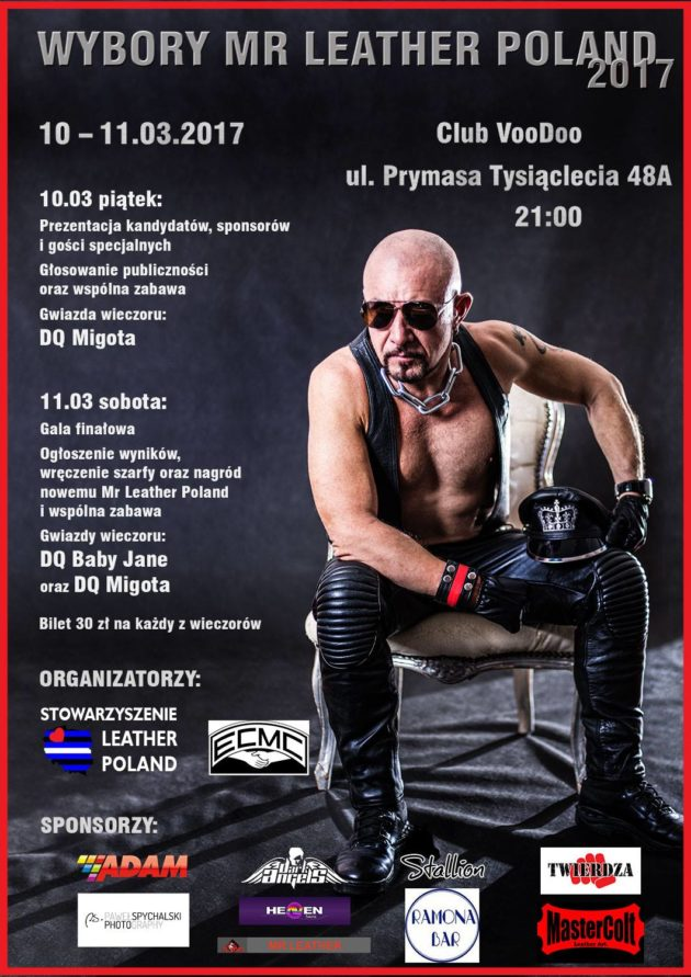 Wybory Mr Leather Poland 2017/Mr Leather Poland Contest Weekend