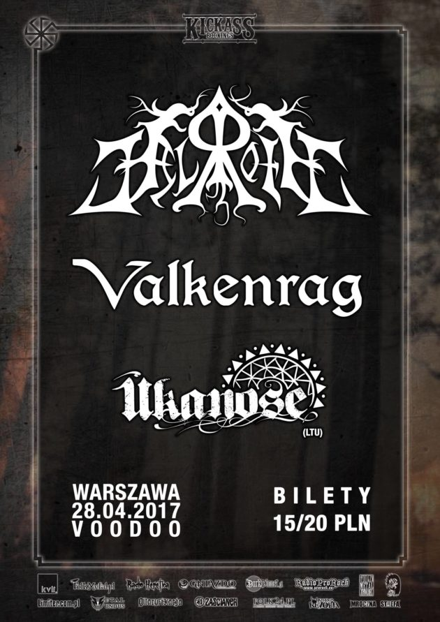 Helroth / Valkenrag / Ūkanose w VooDoo Club