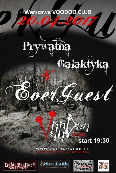 Koncert!!! Everguest & Prywatna Galaktyka w VooDoo Club