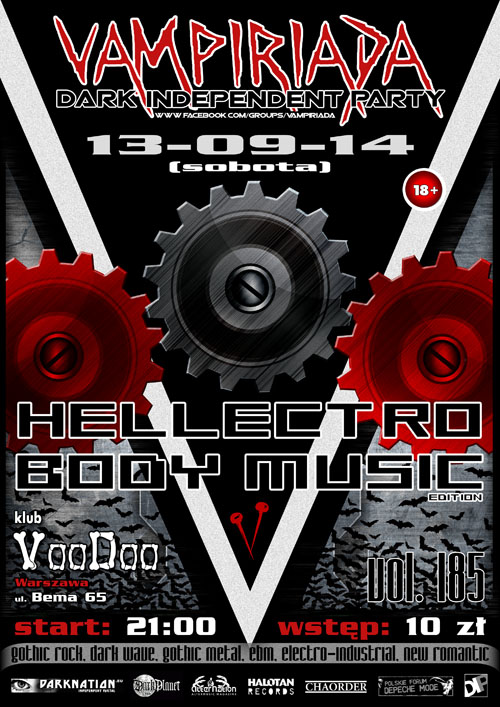 Vampiriada vol. 185 – HELLECTRO BODY MUSIC