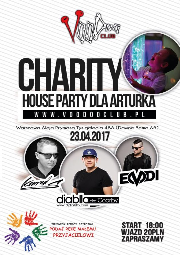 Gramy dla Arturka – Charity House Party