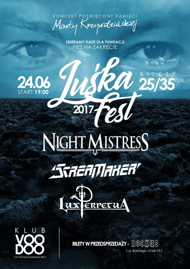 Luśka Fest – Night Mistress, Scream Maker, Lux Perpetua