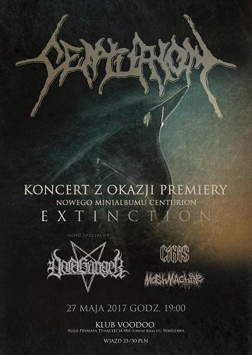 """Centurion / Voidhanger / Cinis / MoshMachine – """"Extinction"""""""