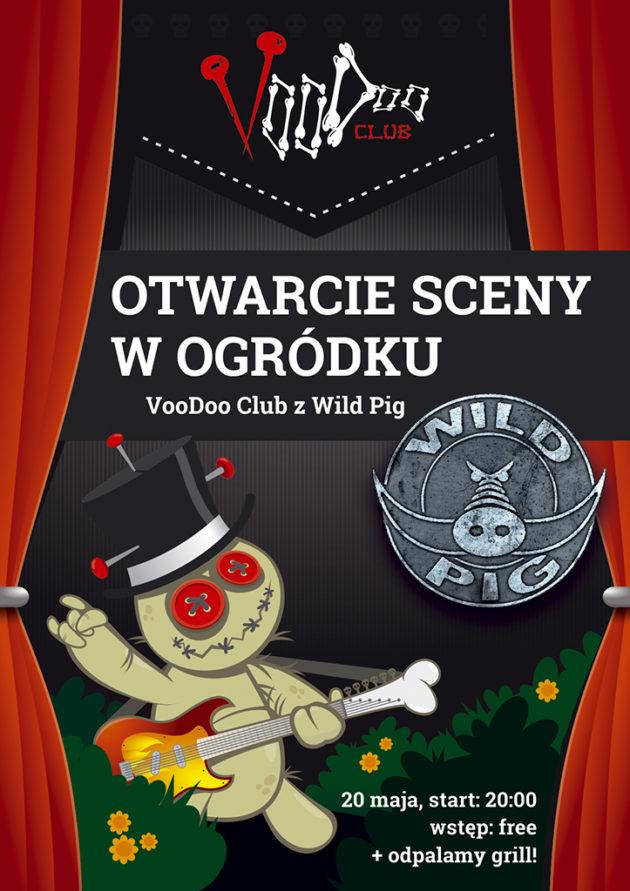 Wild Pig otwiera scenę w ogródku VooDoo Club!