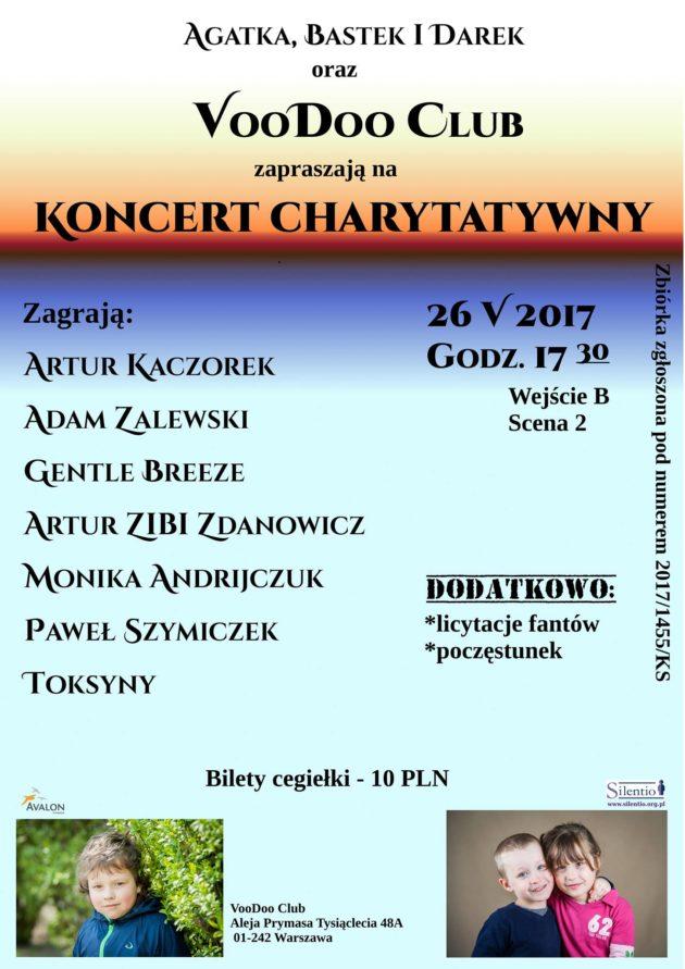 Koncert charytatywny na rzecz Agatki, Darka i Sebastiana