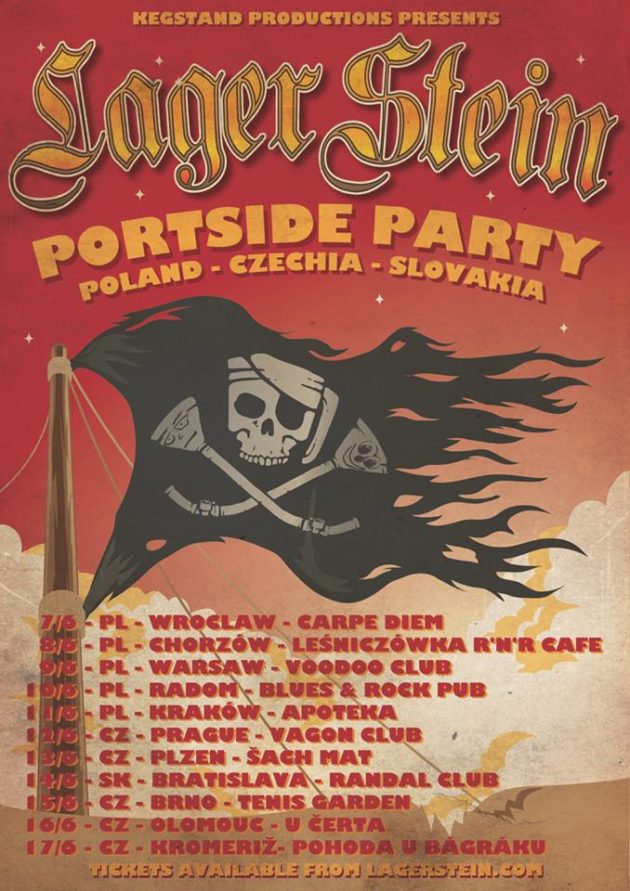 Lagerstein Portside Party Polish Tour Warszawa