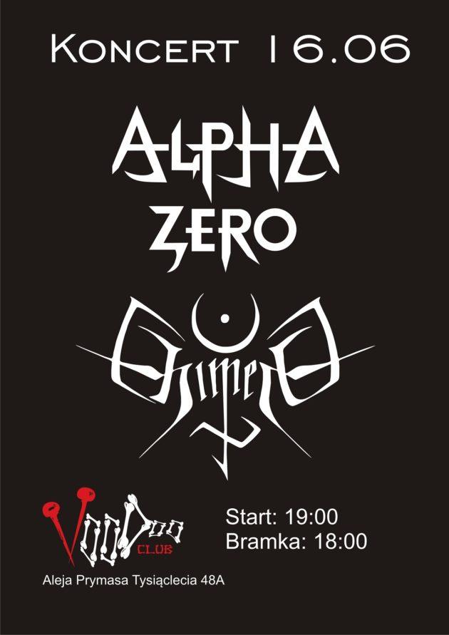 Koncert Alpha Zero & Chimera na Letniej Scenie VooDoo Club