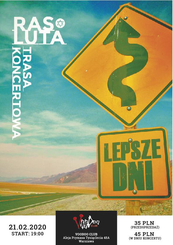 "Ras Luta ""Lepsze Dni Tour"" – Warszawa"
