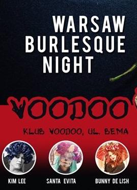 Warsaw Burlesque Night chilli Warszawska Noc Burleski