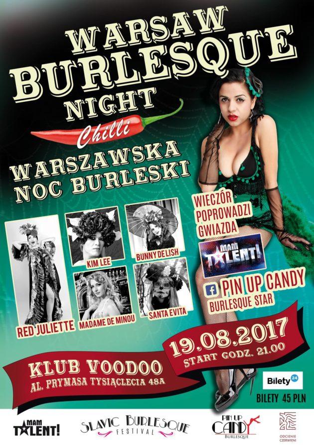 Warsaw Burlesque Night Chilli Warszawska Noc Burleski vol.2