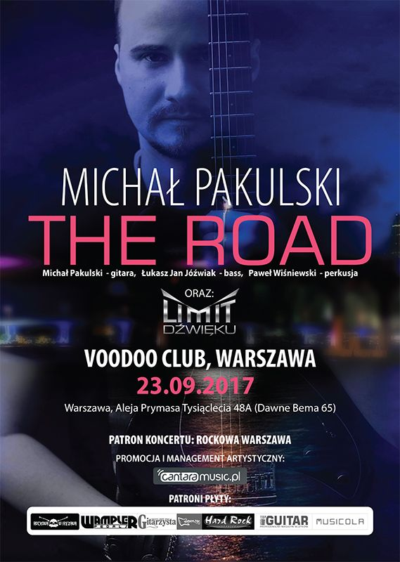 Michał Pakulski Band w VooDoo Club!