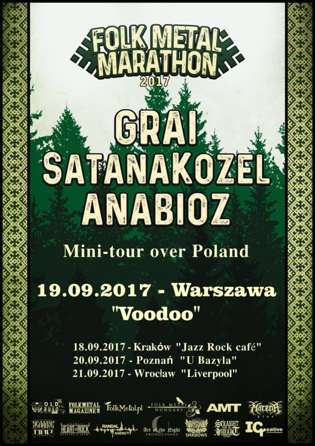 Grai & SatanaKozёl & Anabioz in Warsaw