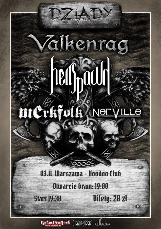 Valkenrag / Hellspawn / Merkfolk / Nerville /