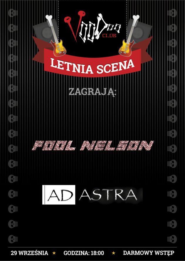 Letnia Scena VooDoo: Fool Nelson i ADastra