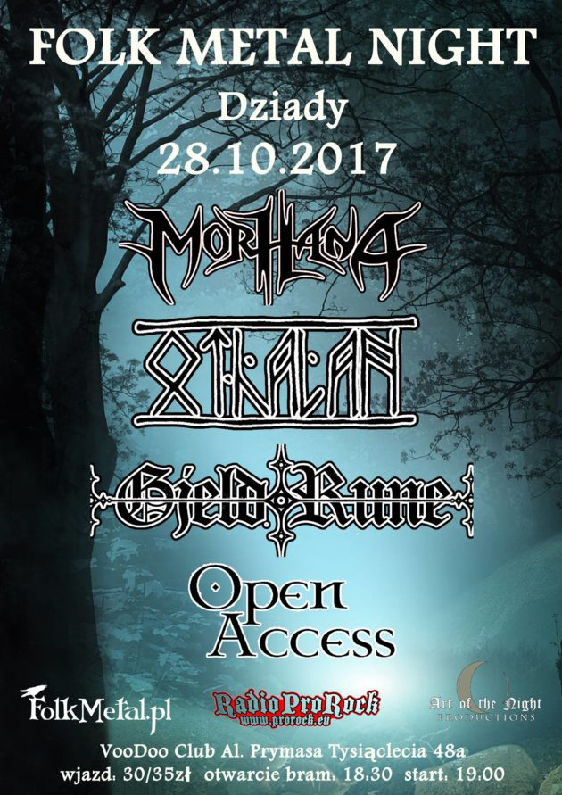 Folk Metal Night (Othalan, GjeldRune, Open Access, Morhana)