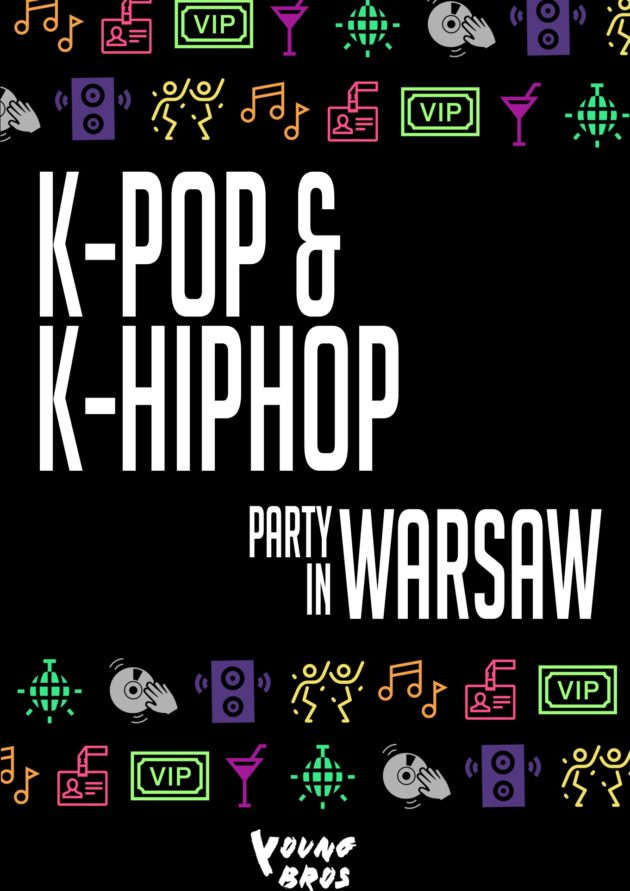 K-Pop & K-Hiphop Party in Warsaw *Free Entrance!