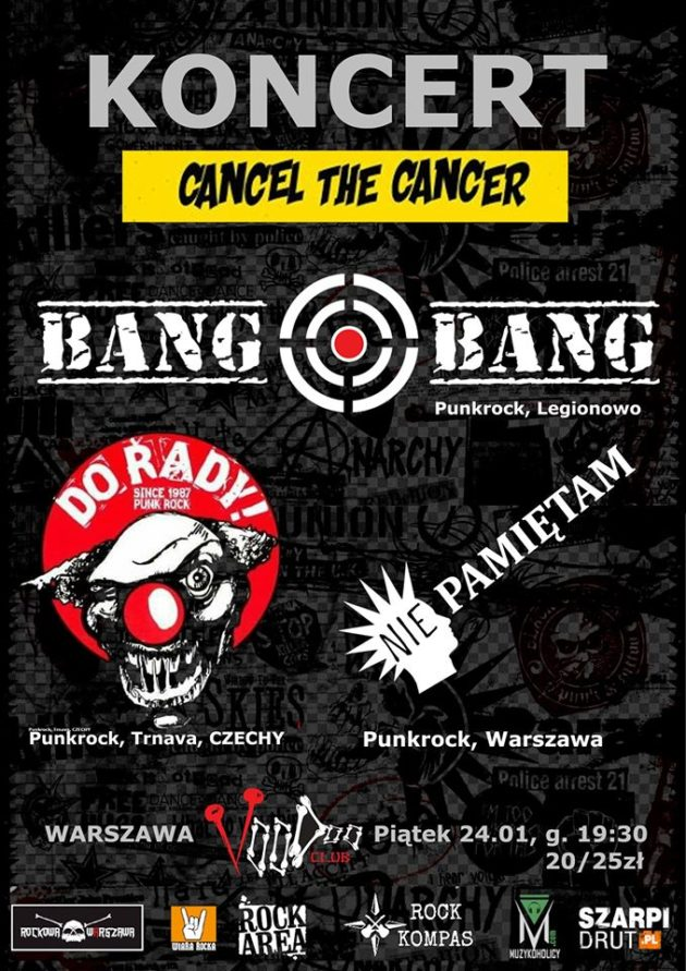 CancelTheCancer PUNK Fest- BANG BANG, Do řady [CZ], Psycho Beets