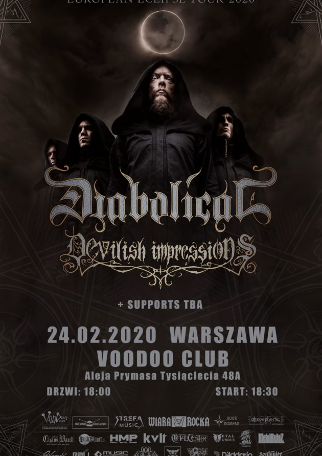 Diabolical (SWE) x  Devilish Impressions x Dark Mirror Ov Tragedy [KS] x Black Royal [ Fin]