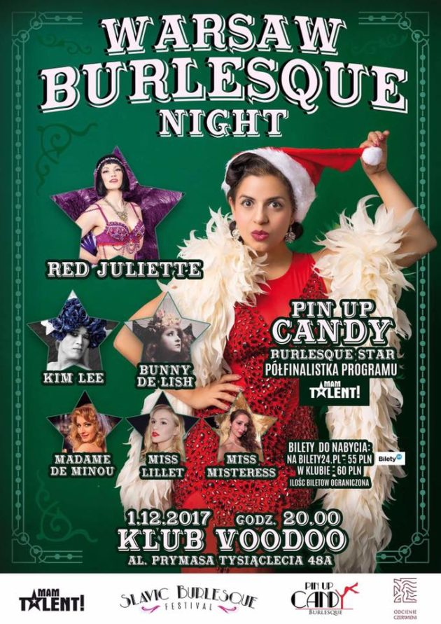 Warsaw Burlesque Night vol. 6 Burlesque Christmas