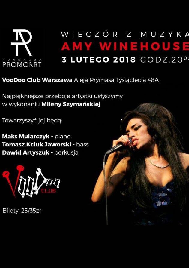 Wieczór z muzyką Amy Winehouse