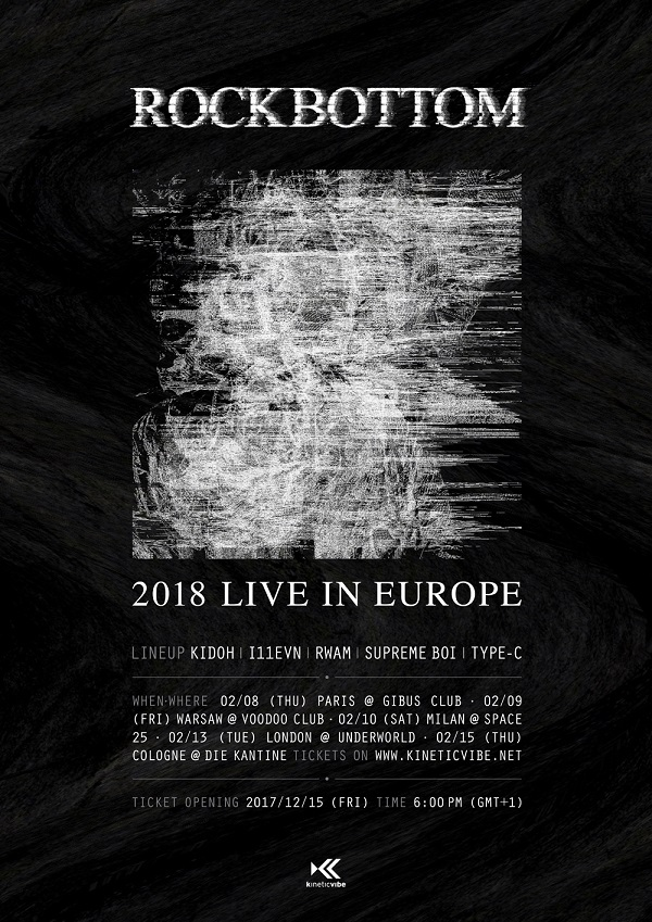 ROCKBOTTOM 2018 Live in Europe – Warsaw