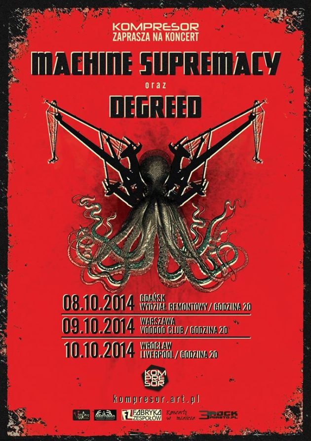 Koncert Machinae Supremacy, Degreed