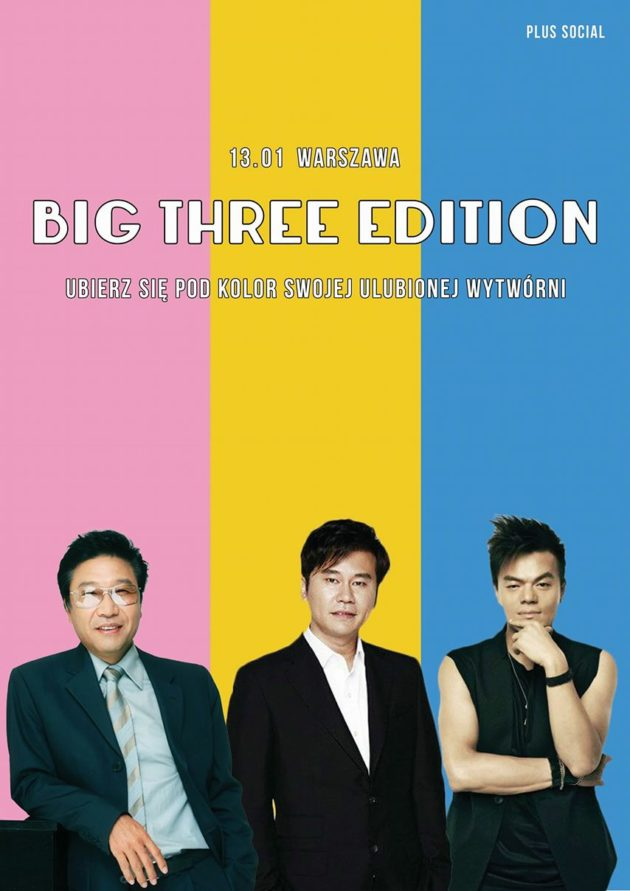 Warszawska Noc z K-popem: Big Three Edition!