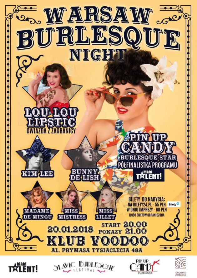 Warsaw Burlesque Night vol. 7