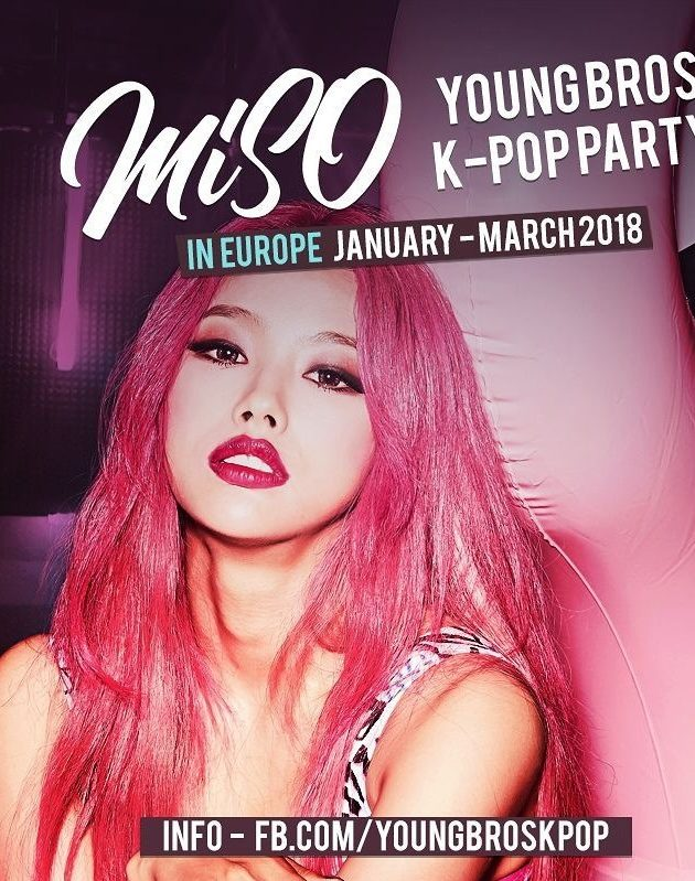 K-Pop & K-Hiphop Party x MiSO 미소 x Young Bros in Warsaw